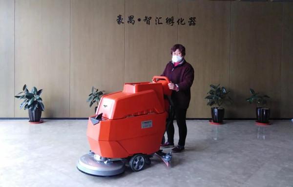 龙推LX620手推式扫地机销售经验介绍
