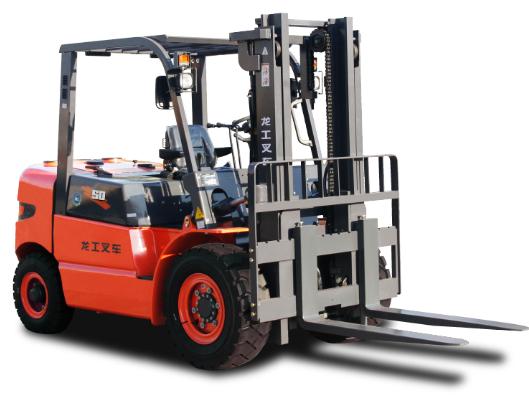 上海龙工LG50DⅣ内燃平衡重式叉车