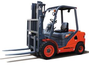龙工新款2.5吨内燃平衡重式叉车LG25DIII