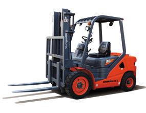新款3.5吨内燃平衡重式叉车LG35D(T)III