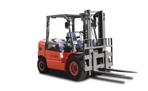 龙工4吨叉车