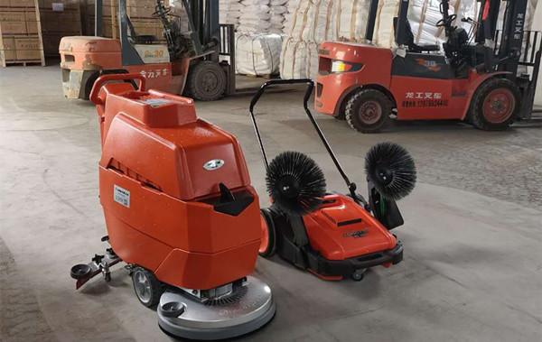龙推洗地机(LX620)-南京办公大厅洗地机
