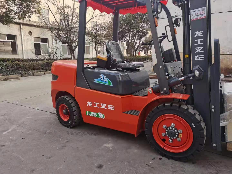 龙工新能源电动叉车-龙工锂电池叉车CPD35-ESL/EWL