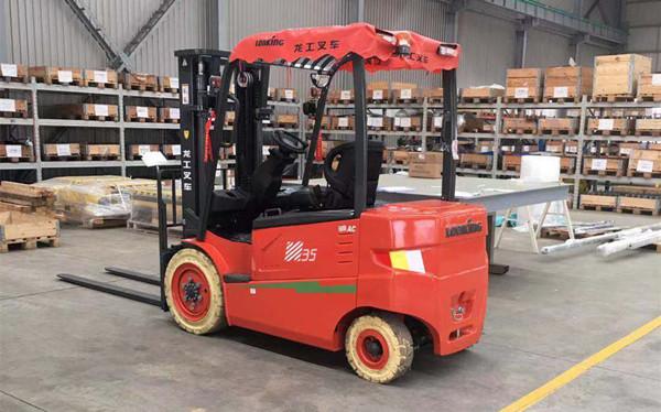 南京3吨电动叉车-南京3吨电瓶叉车-龙工3吨蓄电池叉车