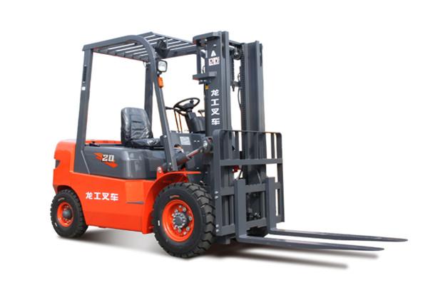 2吨龙工柴油叉车-南京2吨叉车-龙工CPC20柴油叉车